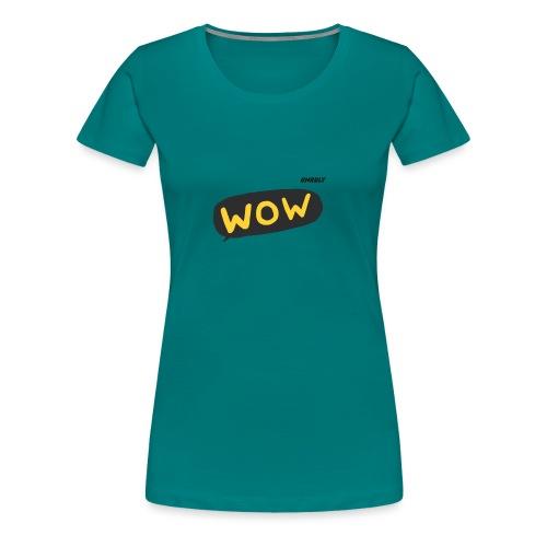 WoW Shirt - Women's Premium T-Shirt