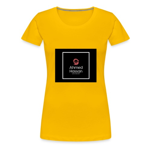 Ahmed Hassan Merch - Women's Premium T-Shirt