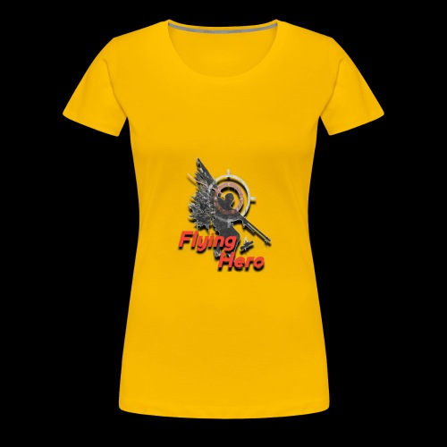 Flying Hero - T-shirt Premium Femme