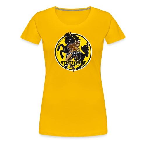 Wildes Stuttgart! - Frauen Premium T-Shirt
