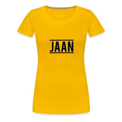 Jaan. - Frauen Premium T-Shirt