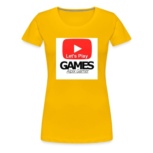 Gönnt euch denn Alpix Gamer Merch - Frauen Premium T-Shirt