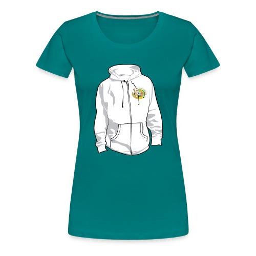 hoodyfront - Vrouwen Premium T-shirt
