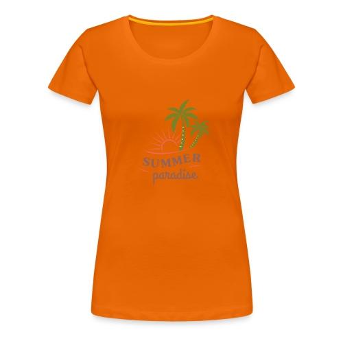 Summer paradise - Women's Premium T-Shirt