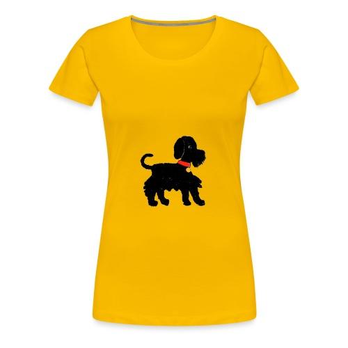 Schnauzer dog - Women's Premium T-Shirt