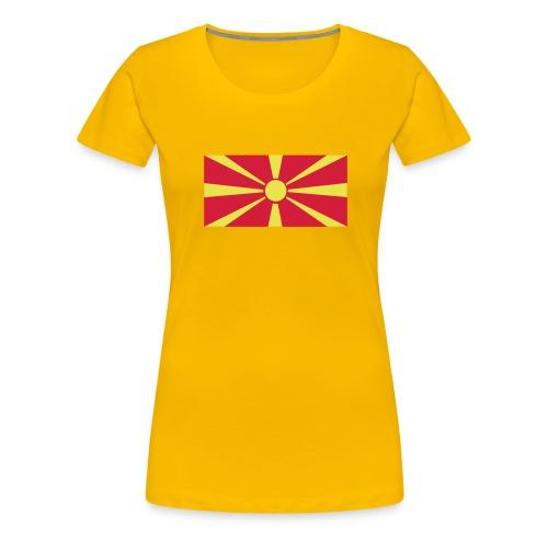 Macedonia - Vrouwen Premium T-shirt