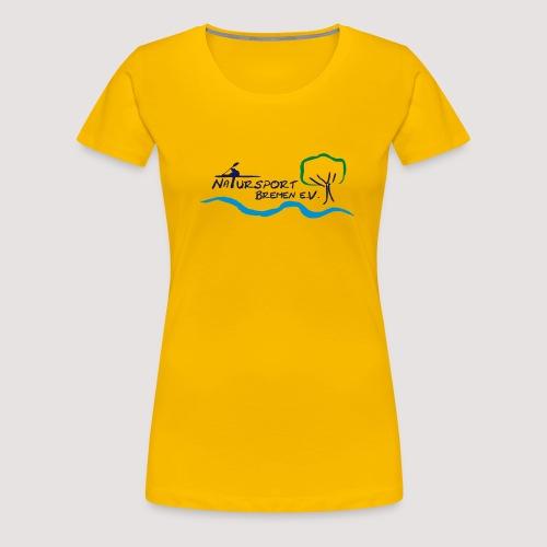 Natursport Bremen Logo - Frauen Premium T-Shirt