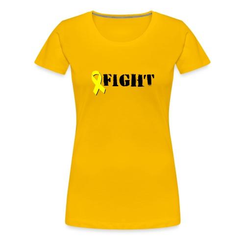 Fight! - Naisten premium t-paita