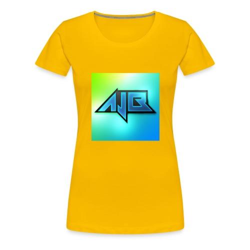 Ajb - Premium T-skjorte for kvinner