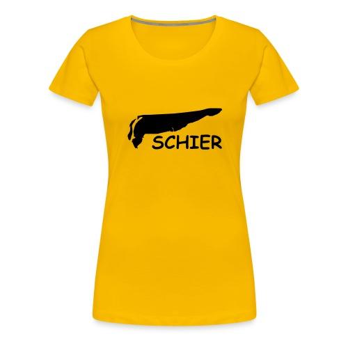 schier - Vrouwen Premium T-shirt