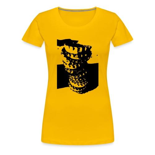 Kronkorken - Frauen Premium T-Shirt