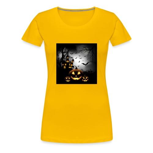 Halloween - Naisten premium t-paita