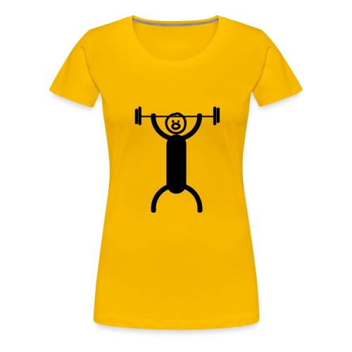 Exercise - Naisten premium t-paita