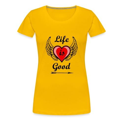 Lifeisgoods - Frauen Premium T-Shirt