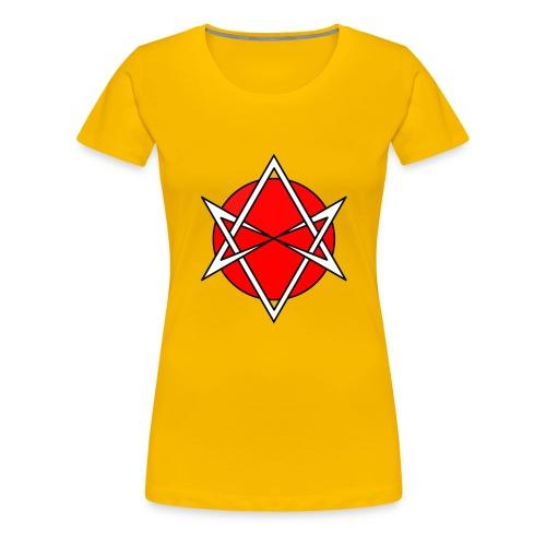 Hexagram Culture - Women's Premium T-Shirt