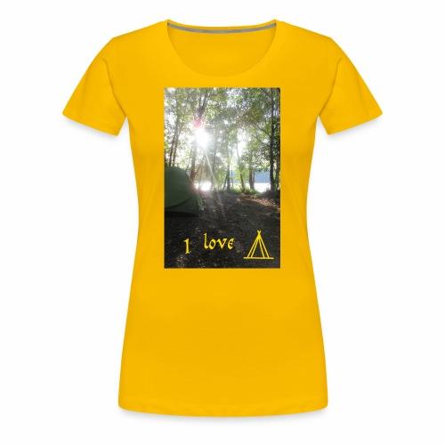 camping - Vrouwen Premium T-shirt