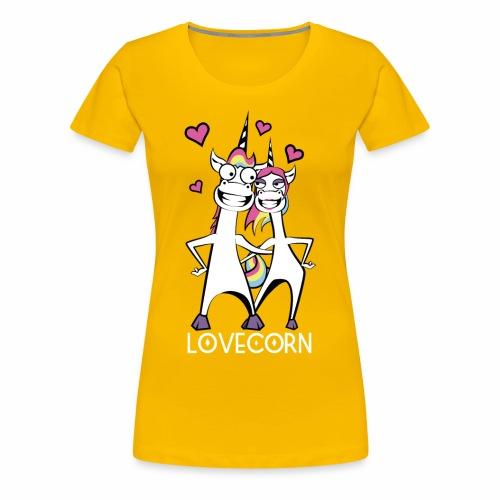 Lovecorn - Frauen Premium T-Shirt
