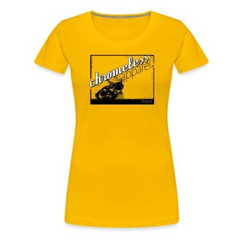 CHROMELESS MOORMASCHINE - Frauen Premium T-Shirt