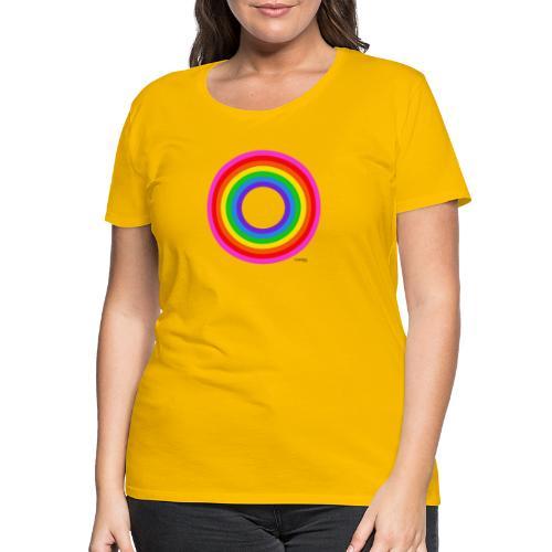 Eternal Rainbow - Naisten premium t-paita