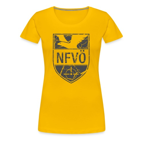 NFVO Patch-Like - Frauen Premium T-Shirt