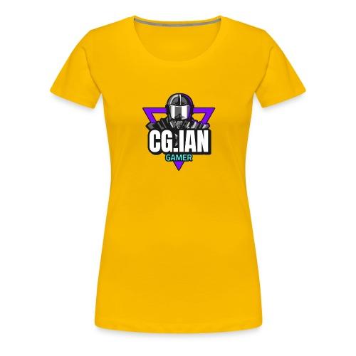 nice and Cool Guy Ian Gamer - Women's Premium T-Shirt
