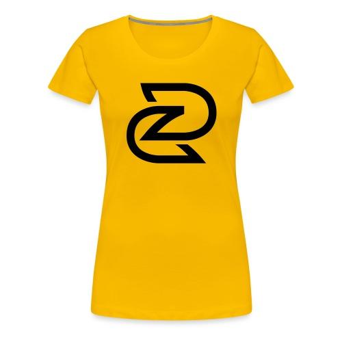 BEELDMERK ZWART - Vrouwen Premium T-shirt