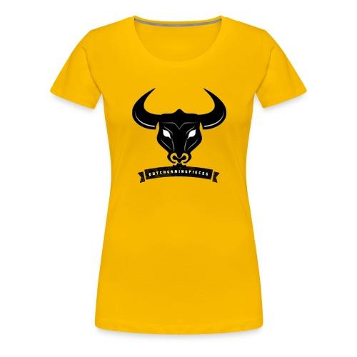 DGP Logo T-shirt Wit Klein - Vrouwen Premium T-shirt