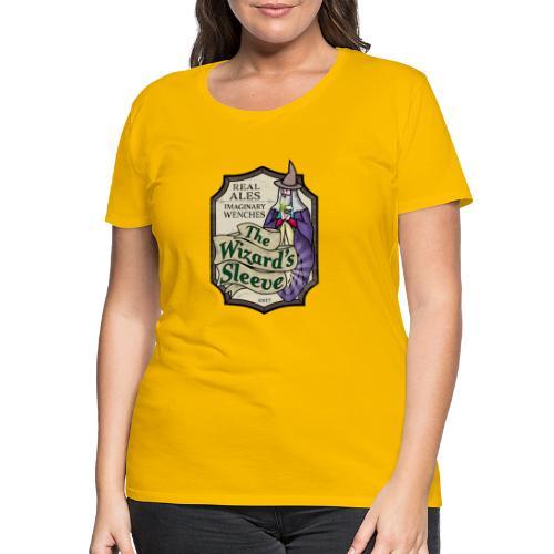 Wizard's Sleeve Pub Sign - Women's Premium T-Shirt
