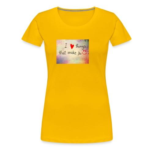 liefdes t-shirts - Vrouwen Premium T-shirt
