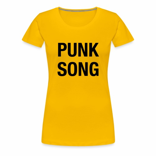 PUNK SONG - Women's Premium T-Shirt