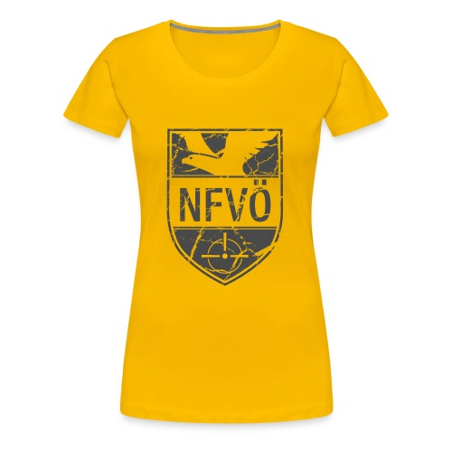 NFVO Patch-Like - Frauen Premium T-Shirt