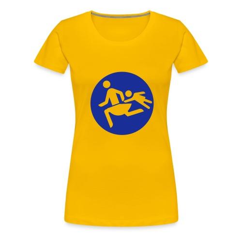 Running Mamas - Frauen Premium T-Shirt