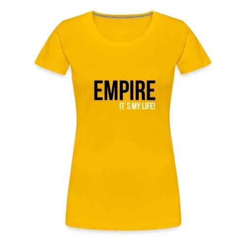 empire black png - Frauen Premium T-Shirt