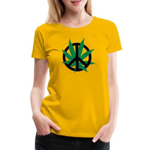 cannabis_peace - Frauen Premium T-Shirt