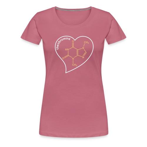 yellowibis theobromine chocbytes vec - Women's Premium T-Shirt