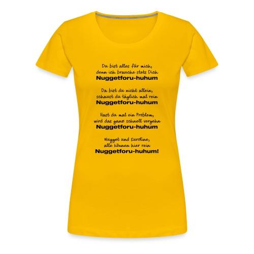 Du bist alles für mich - Frauen Premium T-Shirt