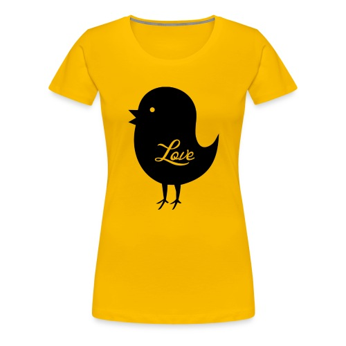 Birdie - Women's Premium T-Shirt