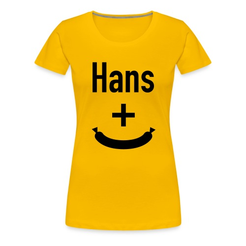 oskarmariagrafhinten - Frauen Premium T-Shirt