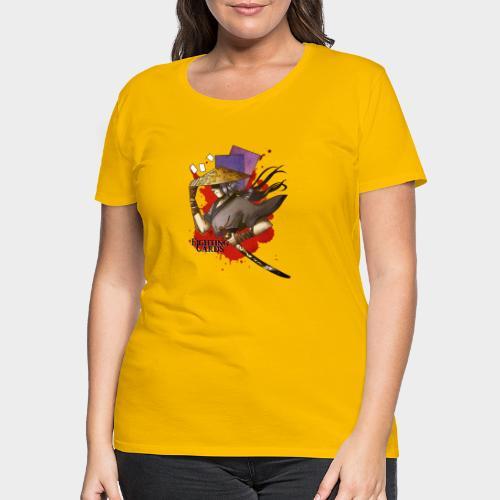 Fighting cards - Guerrier - T-shirt Premium Femme