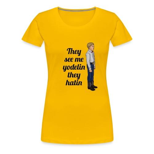Tenn1sTv Yodelin Kid - Women's Premium T-Shirt