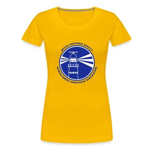 NVV Logo - Vrouwen Premium T-shirt
