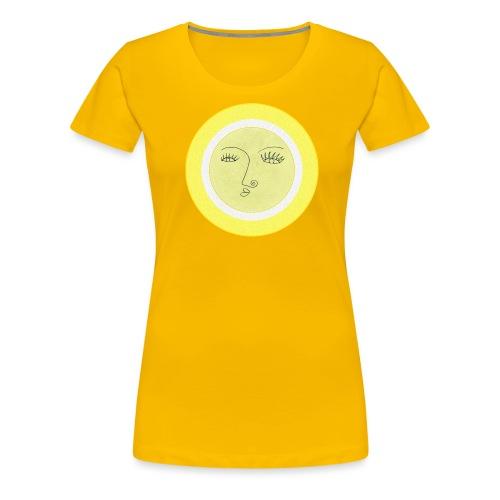 Sonne - Gesicht - Frauen Premium T-Shirt