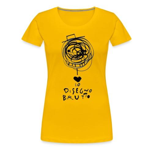 tshirt dis brutto png - Maglietta Premium da donna