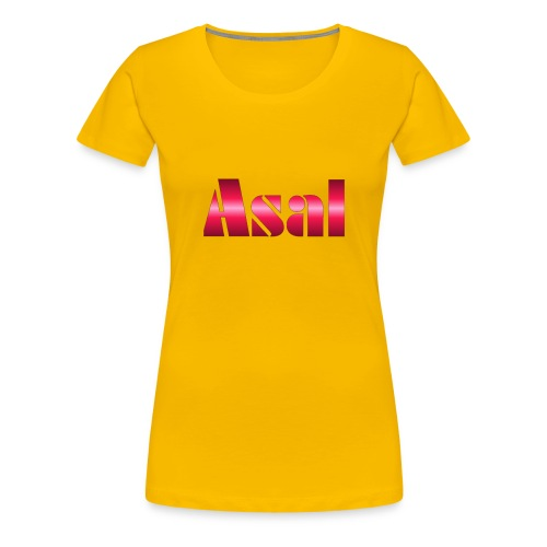 Classic Asal Logo - Frauen Premium T-Shirt