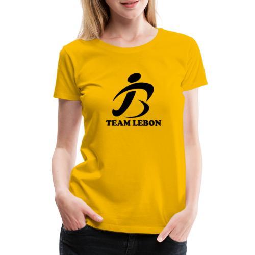 JLBLOGOapp17team lebon - Women's Premium T-Shirt
