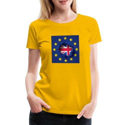 Brexit Britain - Women's Premium T-Shirt