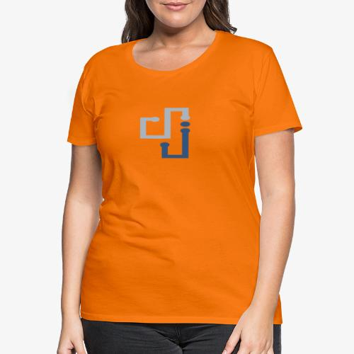 Amo la música DJ - Camiseta premium mujer