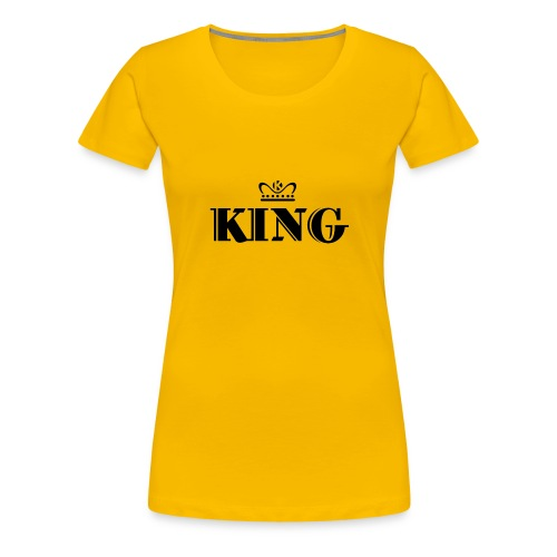 King - Frauen Premium T-Shirt