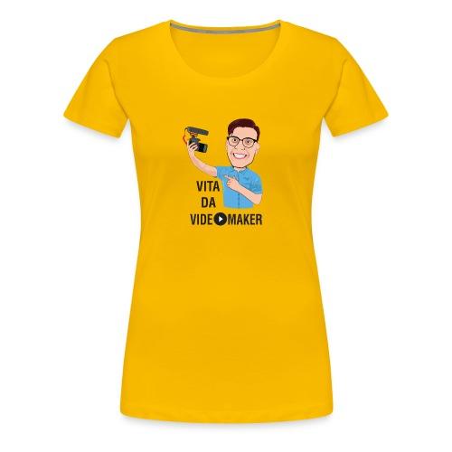 Vita da Videomaker - Nero - Maglietta Premium da donna