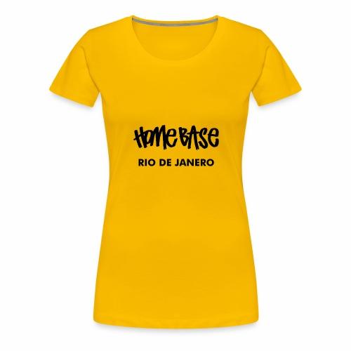 Home City Rio De Janero - Frauen Premium T-Shirt